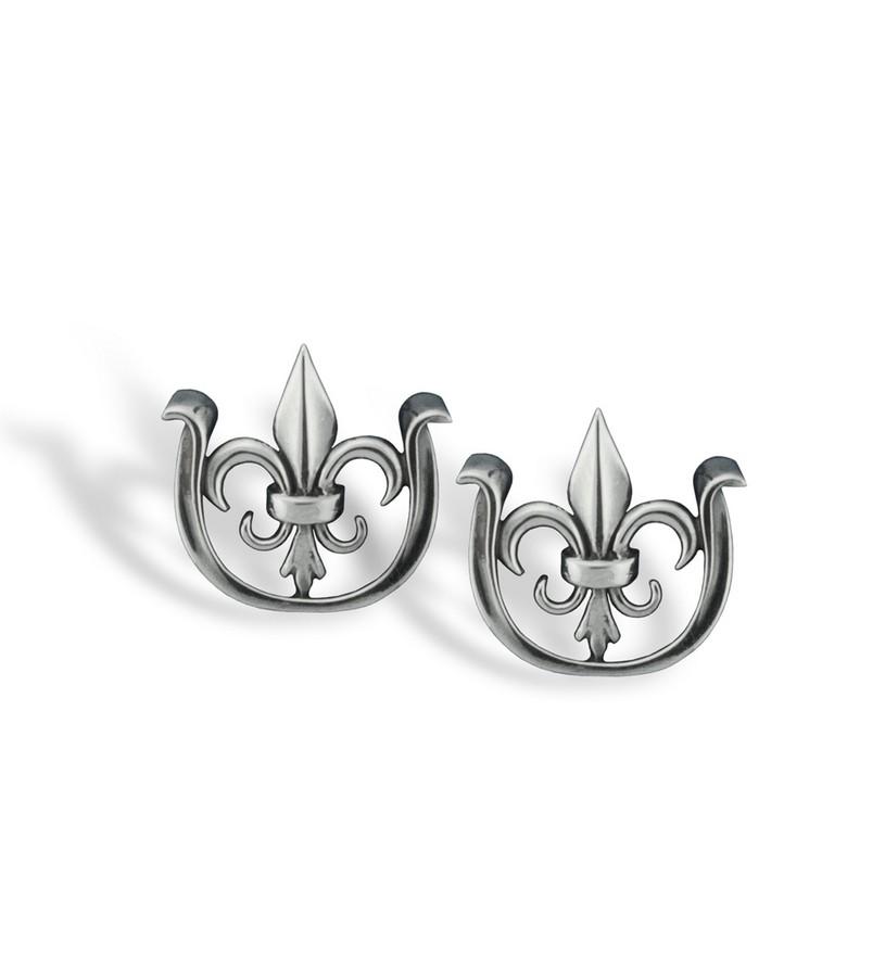 382-15 Fleur de Lis/ Thurby Logo Cufflinks,Darren K. Moore,382-15 CUFFLINKS