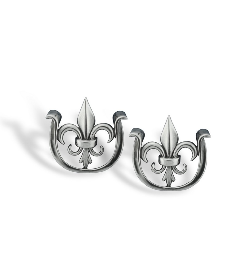 382-15 Fleur de Lis/ Thurby Logo Cufflinks,Darren K. Moore,382-15 CUFFLINKS