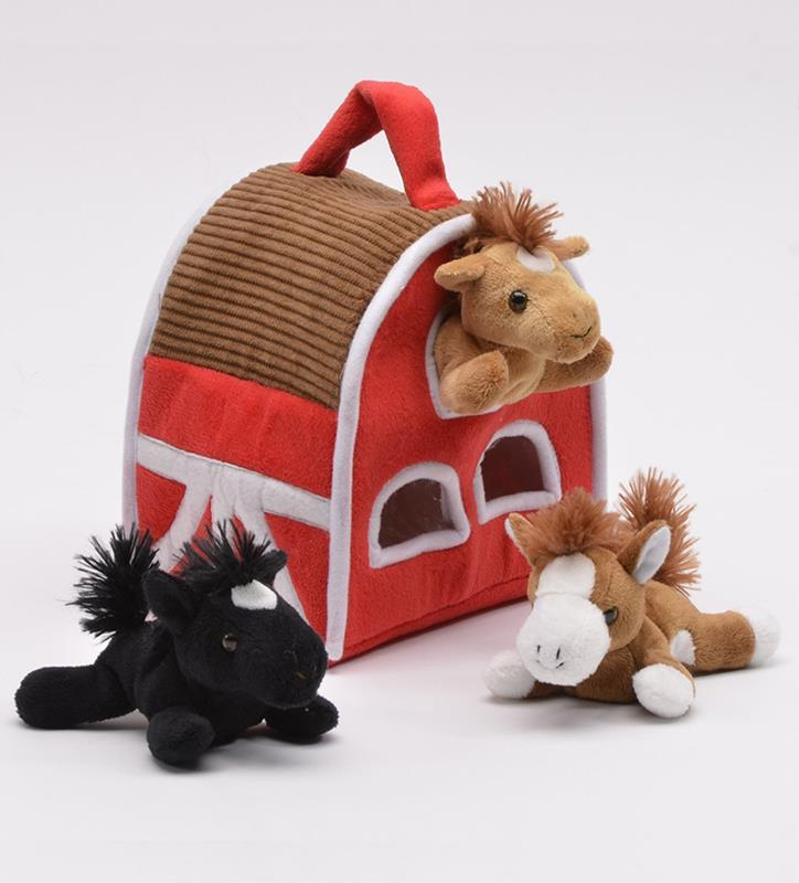 Horse Barn Finger Puppets,7155HO