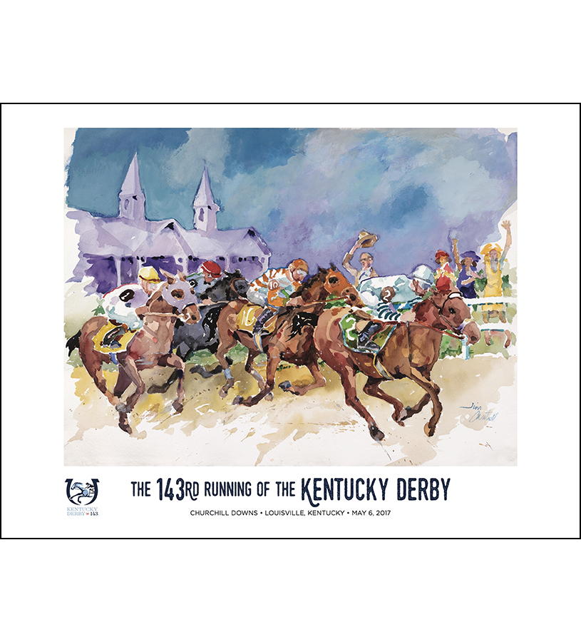 2017 Art of the Derby Poster,825452524511