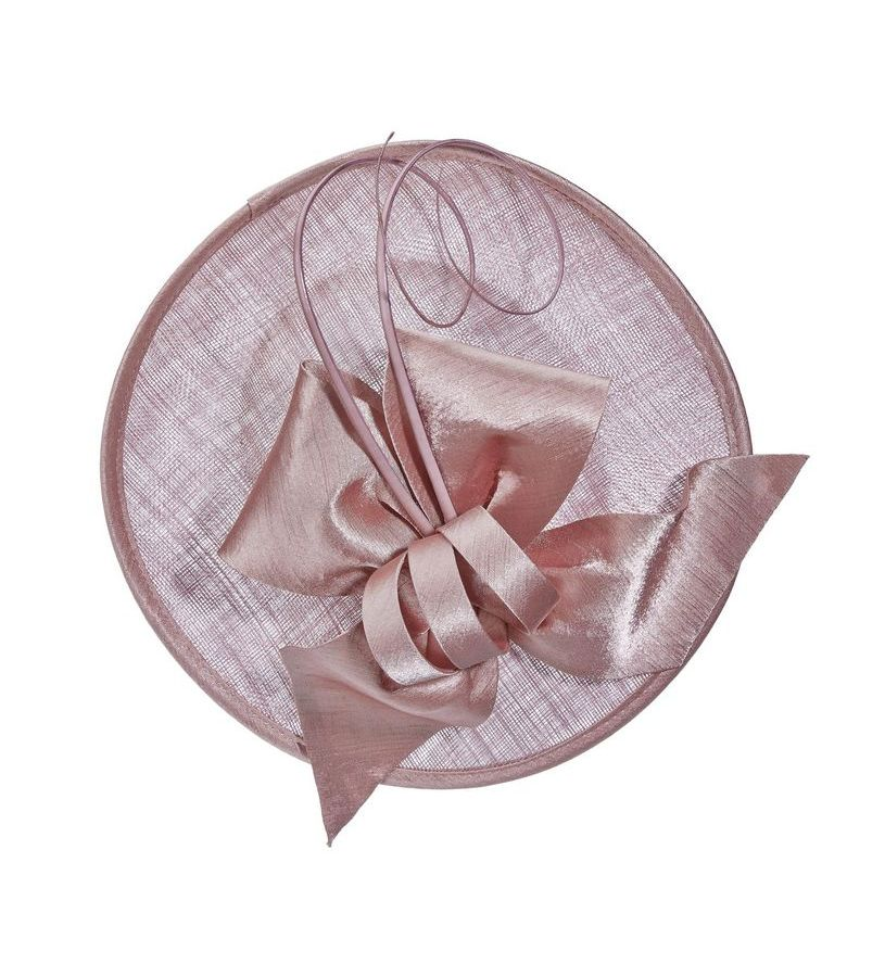 The Curled Quill Fascinator,LDF47-ASST MAUVE
