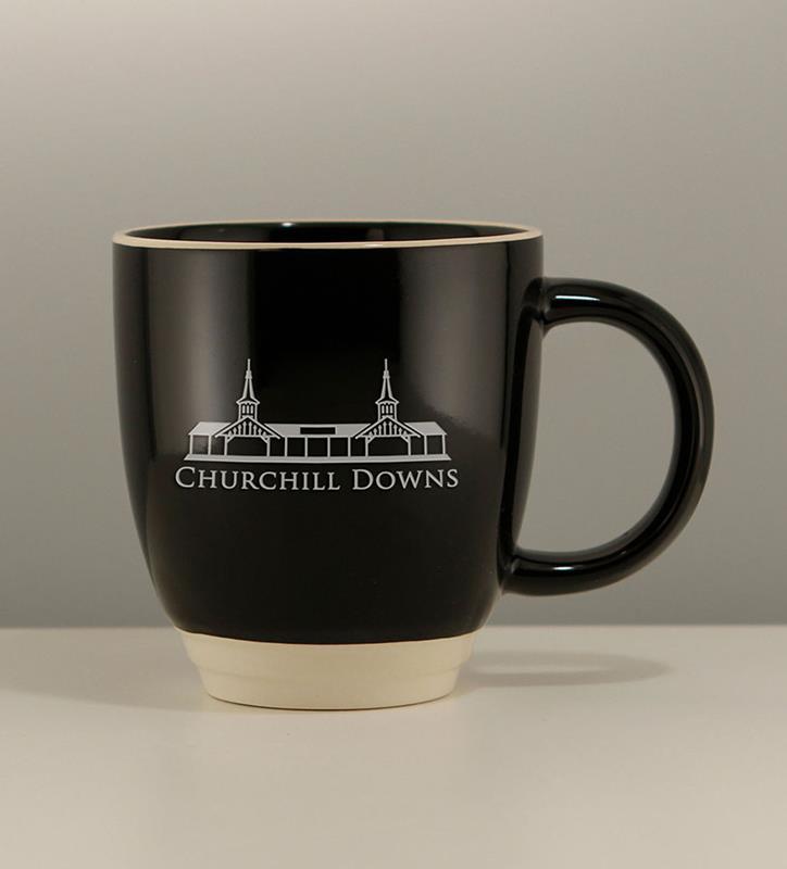 Grandstand Etched Duet Mug,02-126 BLK 12 OZ