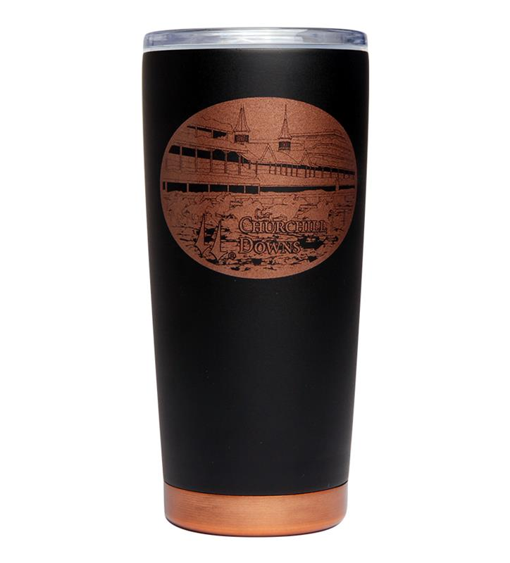 Churchill Downs Black/Copper Tumbler,DNK213