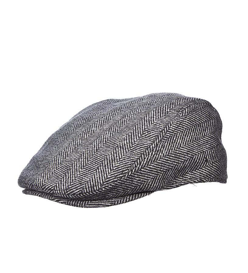 Men's Herringbone Ivy Cap,MW240ASST