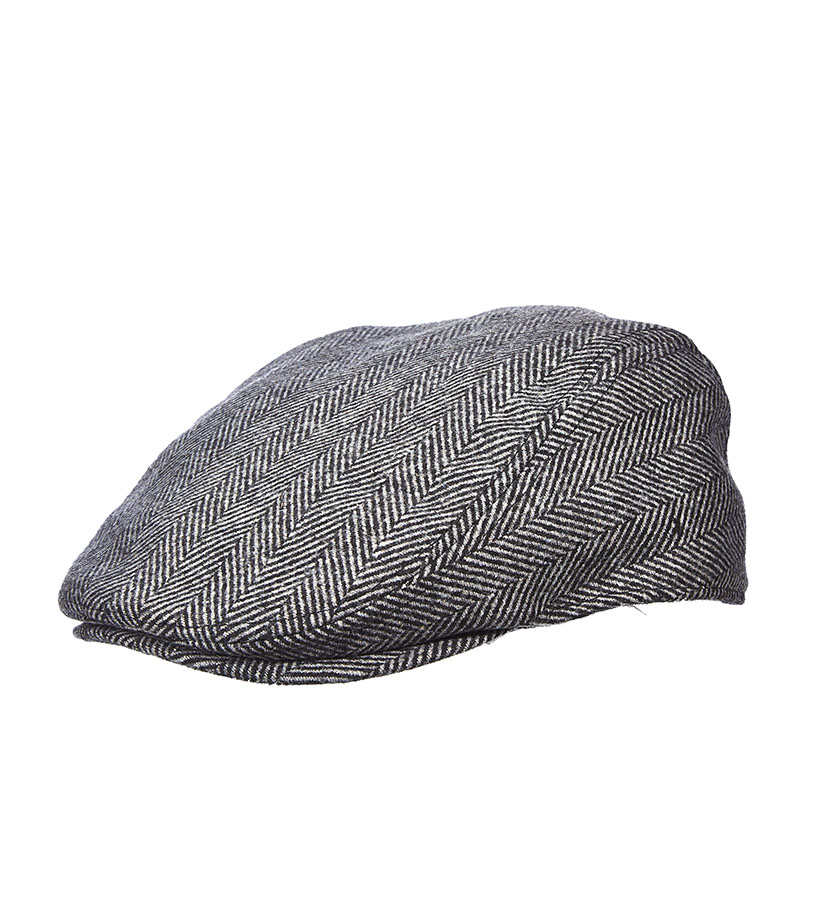 Men's Herringbone Ivy Cap,MW240ASST