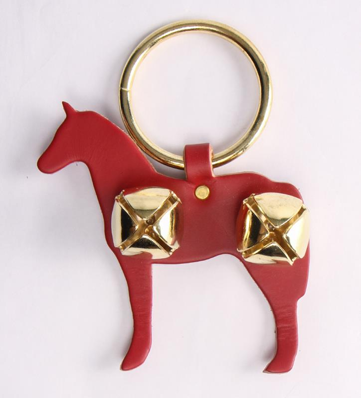 Horse and Bells Door Hanger,91052 RED