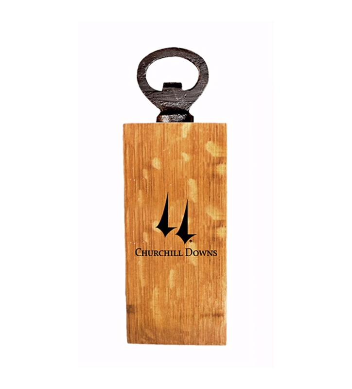 Churchill Downs Logo Mini Bottle Opener,CHURCHILL-MBO