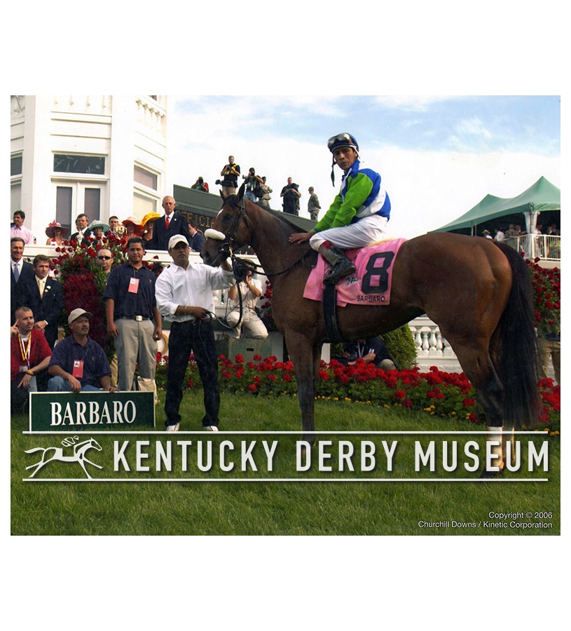 2006 Barbaro Winners Circle Photo