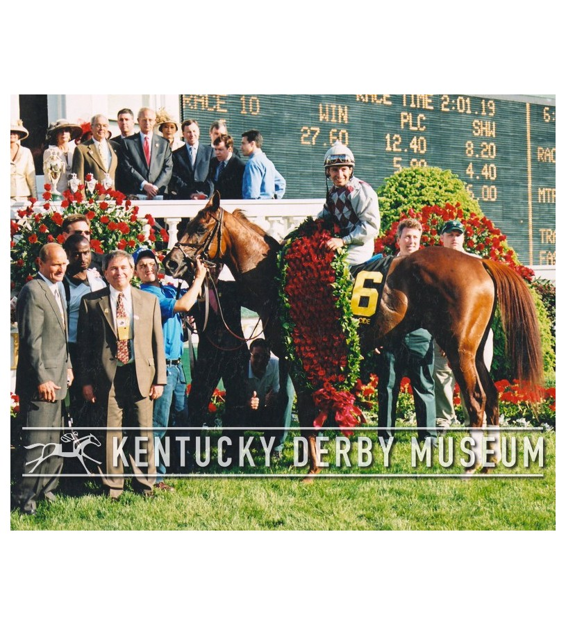 2003 Funny Cide Winners Circle Photo Derbymuseumstore