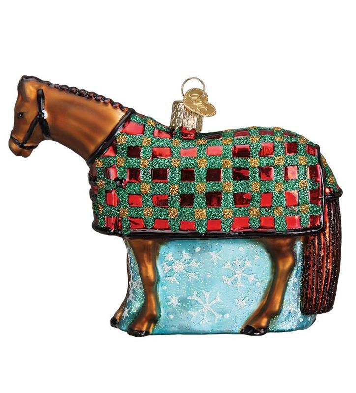 Snowflake Horse Vintage Ornament,12424