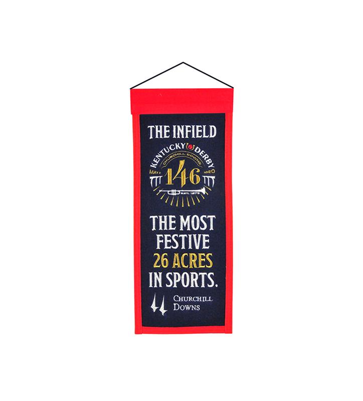 Kentucky Derby 146 Mini Banner,79072