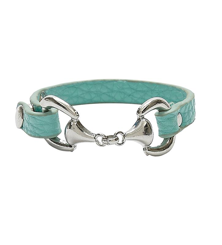 Snaffle Bit Snap Bracelets,JB4900TQ