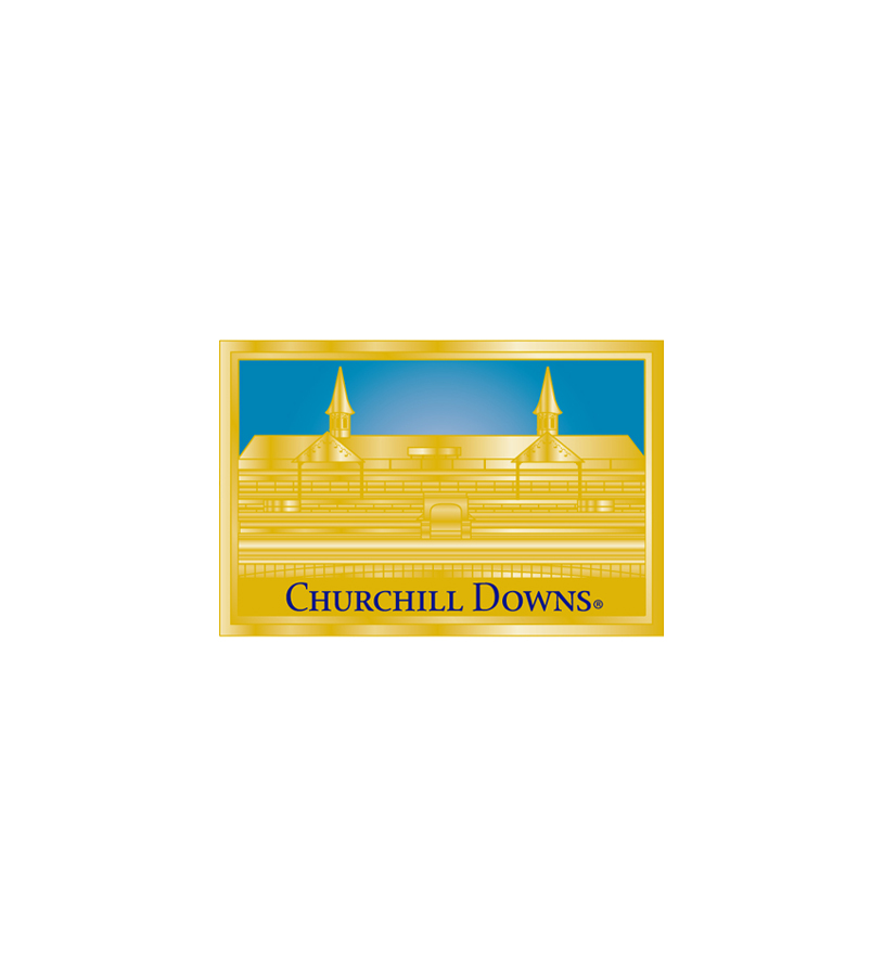 Churchill Downs Gold Vision Magnet,R3837316 GOLD