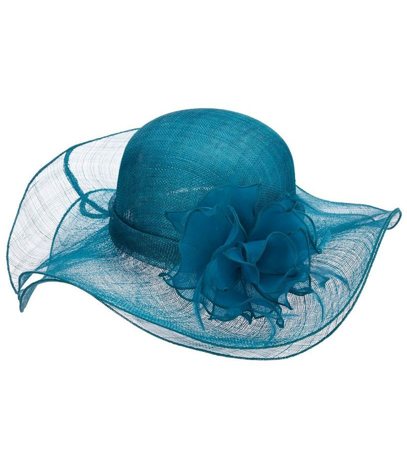 The Falabella Sinamay Hat,LD92-LAGOON