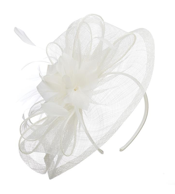 The Lynn Fascinator,LDF54-ASST IVORY
