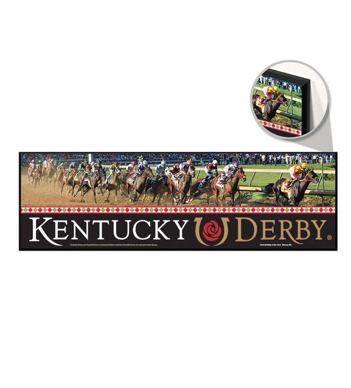 Kentucky Derby Decorative Wooden Sign,76074118 9 X 30