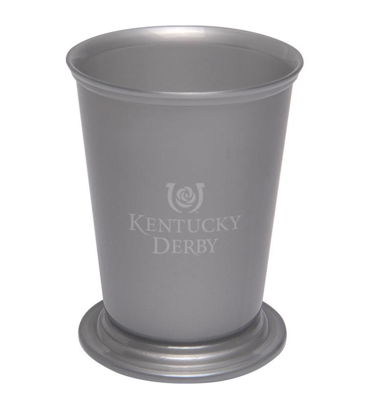 Kentucky Derby Icon Mint Julep Party Cup,Chocolate & Mint,KENT-410002.0100 8OZ
