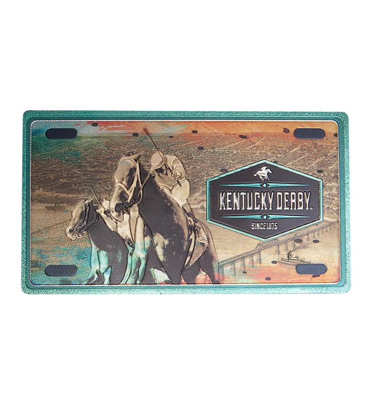 Kentucky Derby Double-Sided Foil Magnet,YU49019-KENTD