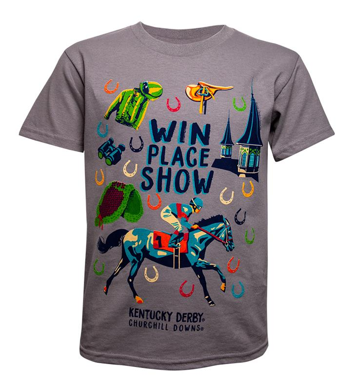 Win, Place, Show Youth Tee,9248 2018 WPS YOUTH