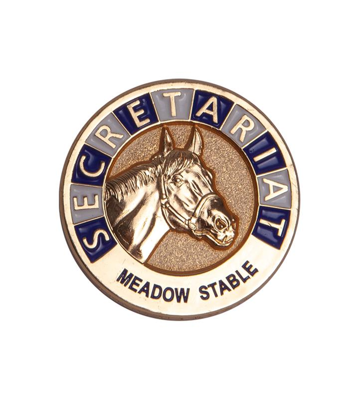 Secretariat Commemorative Lapel Pin,LAPEL PIN SECRETARIA