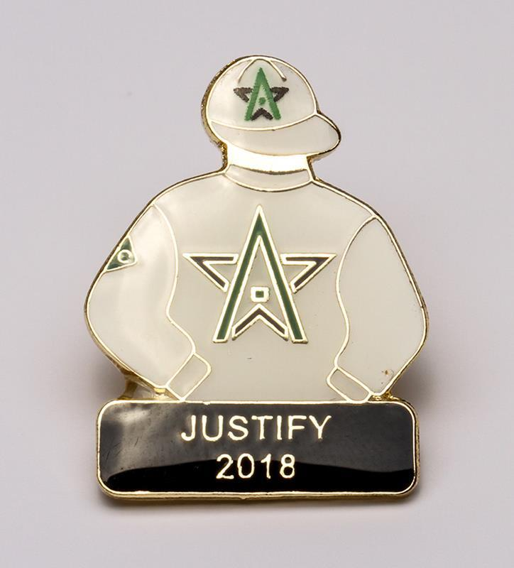2018 Justify Tac Pin,2018 JUSTIFY PIN