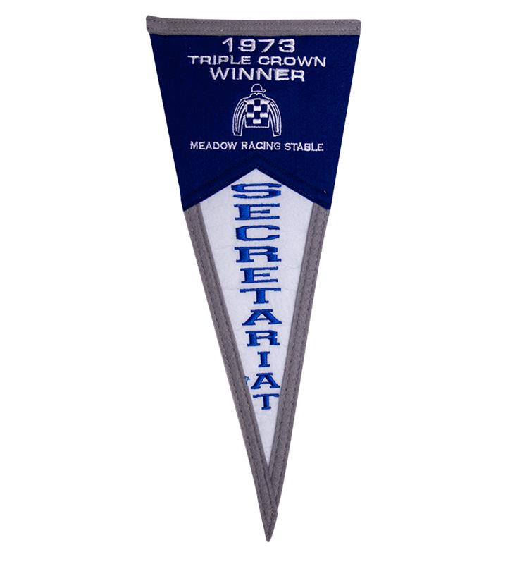 Secretariat Mini Fan Pennant,SEC MINI PENNANT