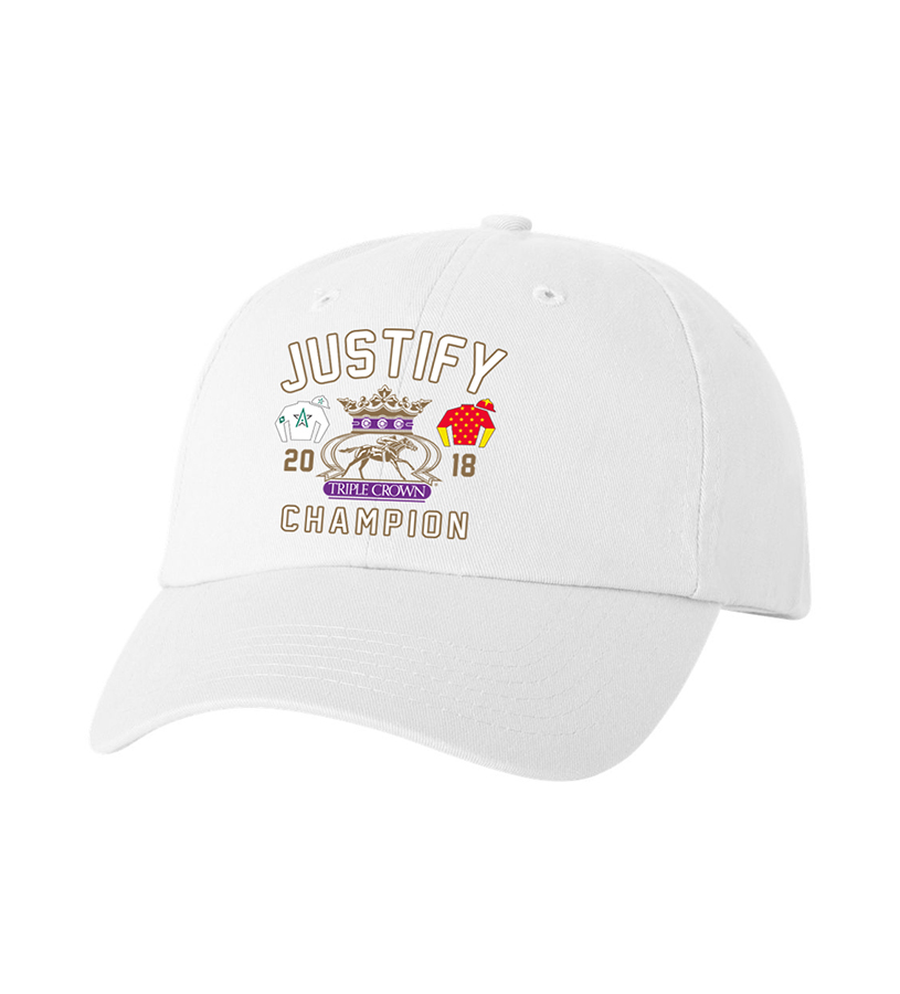 2018 Justify Triple Crown Silks Cap,JZ2CW