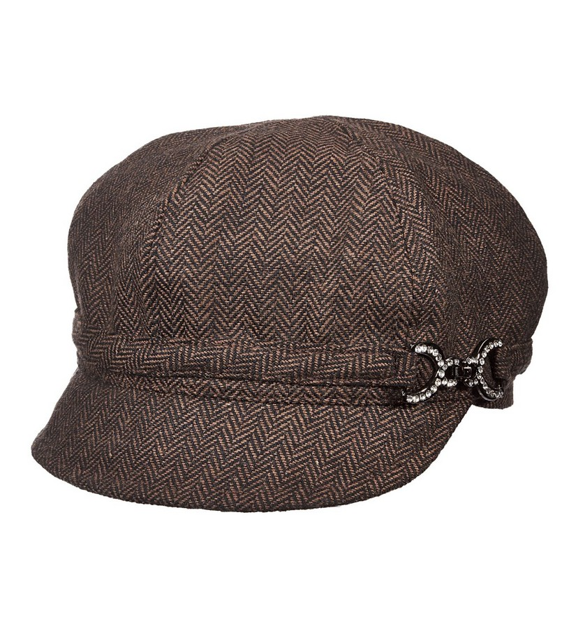 Ladies' Bridle Buckle Cadet Cap,LW622-ASST