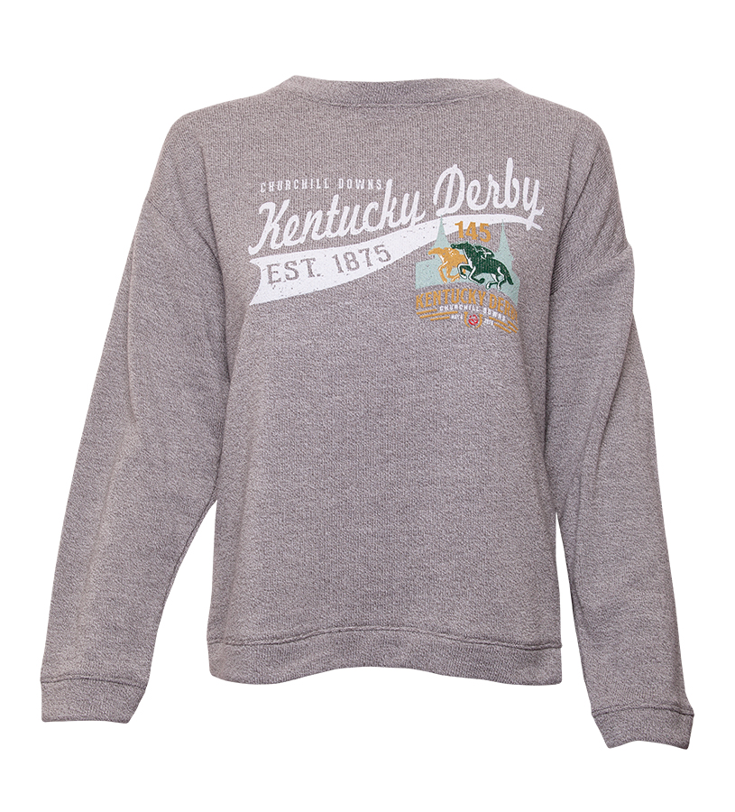 Kentucky Derby 145 Long-Sleeved Commit Tee,RZC 0A14 OPT 3