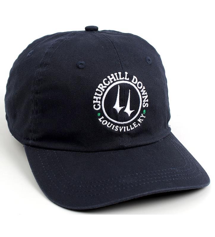 Churchill Downs Vintage Twill Logo Cap,C47MT2-3-ACUP#740