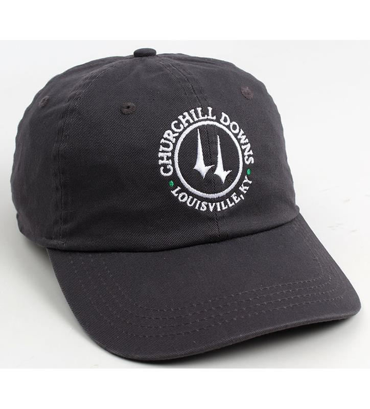 Churchill Downs Vintage Twill Logo Cap,C47MT2-W-ACYO#740