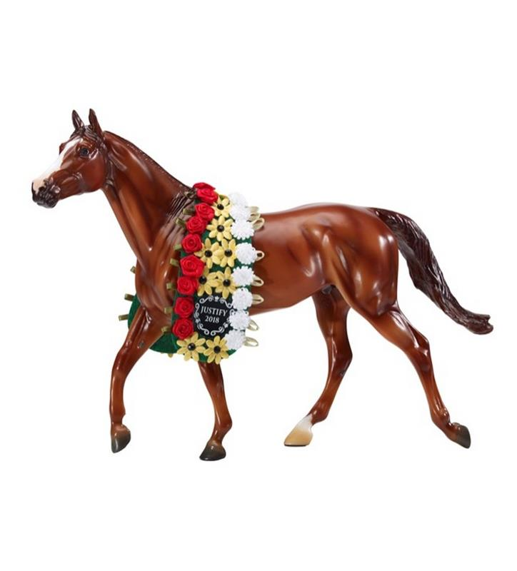 Justify Triple Crown Breyer,9300 TRADITIONAL
