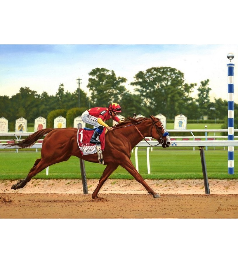 "Justify Dual Signed Giclee Limited Edition Print,100W 20X30"" 150 ED"