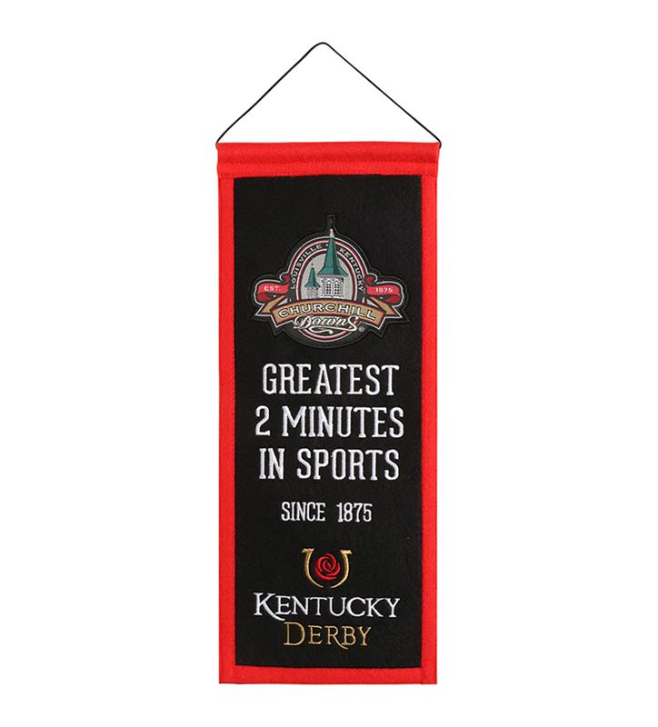 Kentucky Derby Greatest Two Minutes Mini Banner,79064 KD MINI BANNER