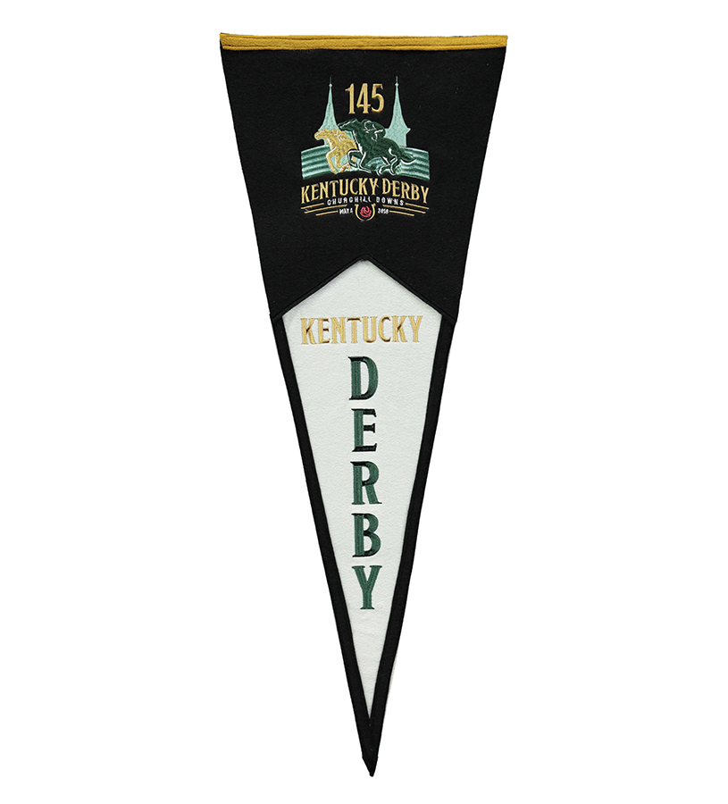 Kentucky Derby 145 Pennant,79068 145 PENNANT