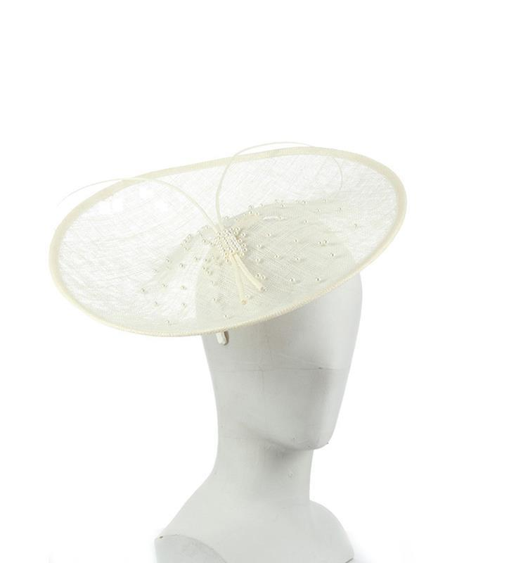 The Catherine Fascinator,LDF70-IVORY