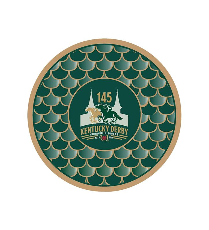 "Kentucky Derby 145 Appetizer Plates,#45477 7"" 8PK"