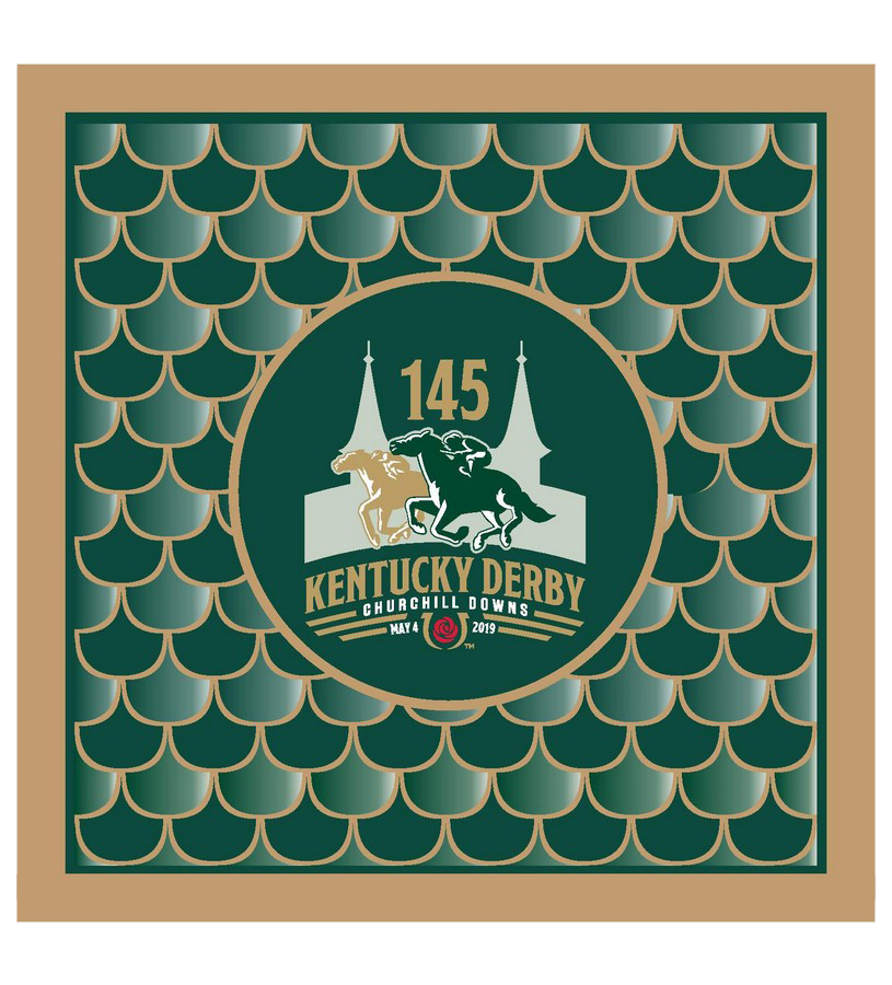 Kentucky Derby 145 Beverage Napkins,#45480 24PK