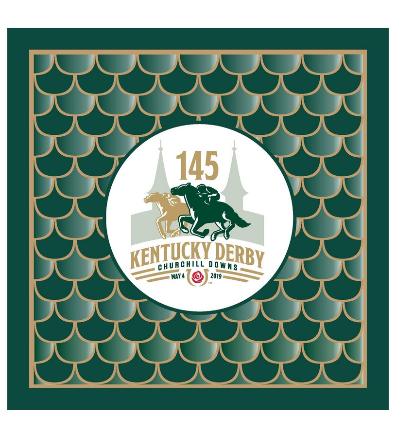 Kentucky Derby 145 Luncheon Napkins,#45482 24PK
