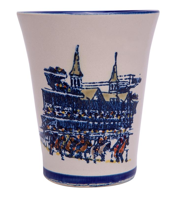 Grandstand Julep Cup by Louisville Stoneware,GRAND JULEP EX