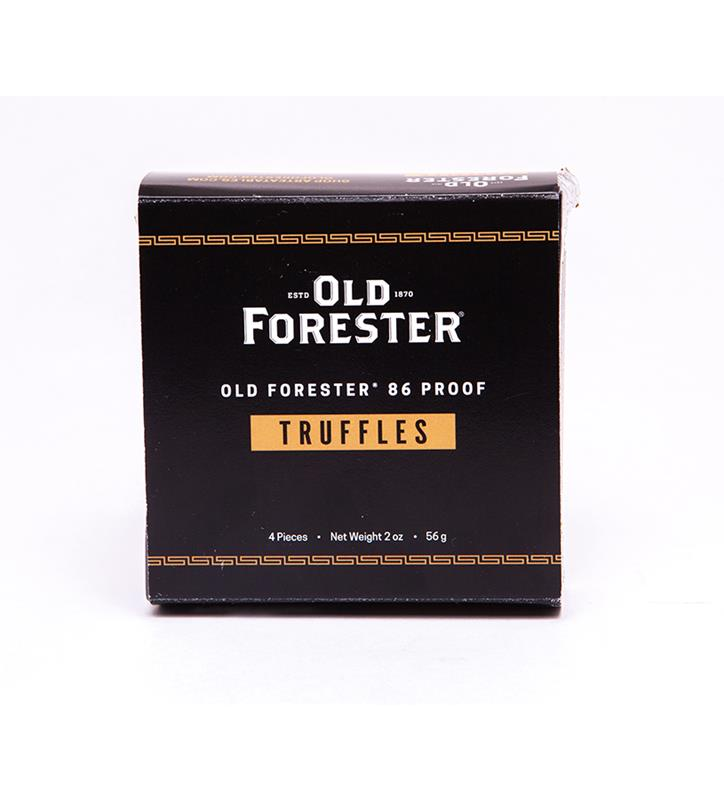 Old Forester Bourbon Truffles,4 PC OLD FORESTER