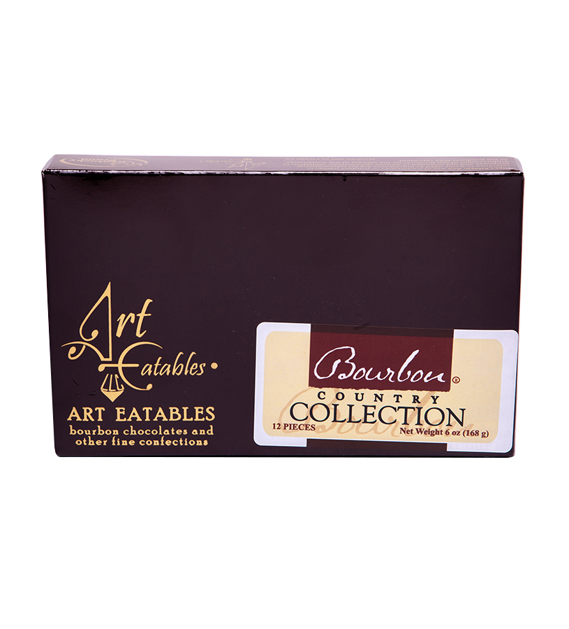 Bourbon Country Truffle Collection,12 PC 12 FLAVORS