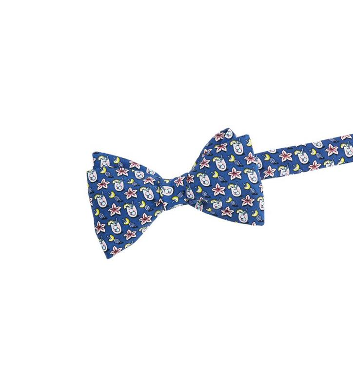 Kentucky Derby 2019 Lily Cocktail Bowtie,Kentucky Derby 145-2019 Vineyard Vines Collection,1T000163-410 NAVY