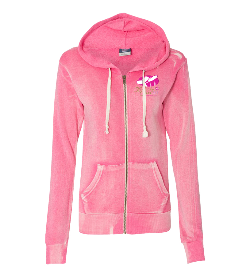 Kentucky Oaks 145 Ladies' Angel Fleece Full-Zip,9KOLZHSAFHP HYPER