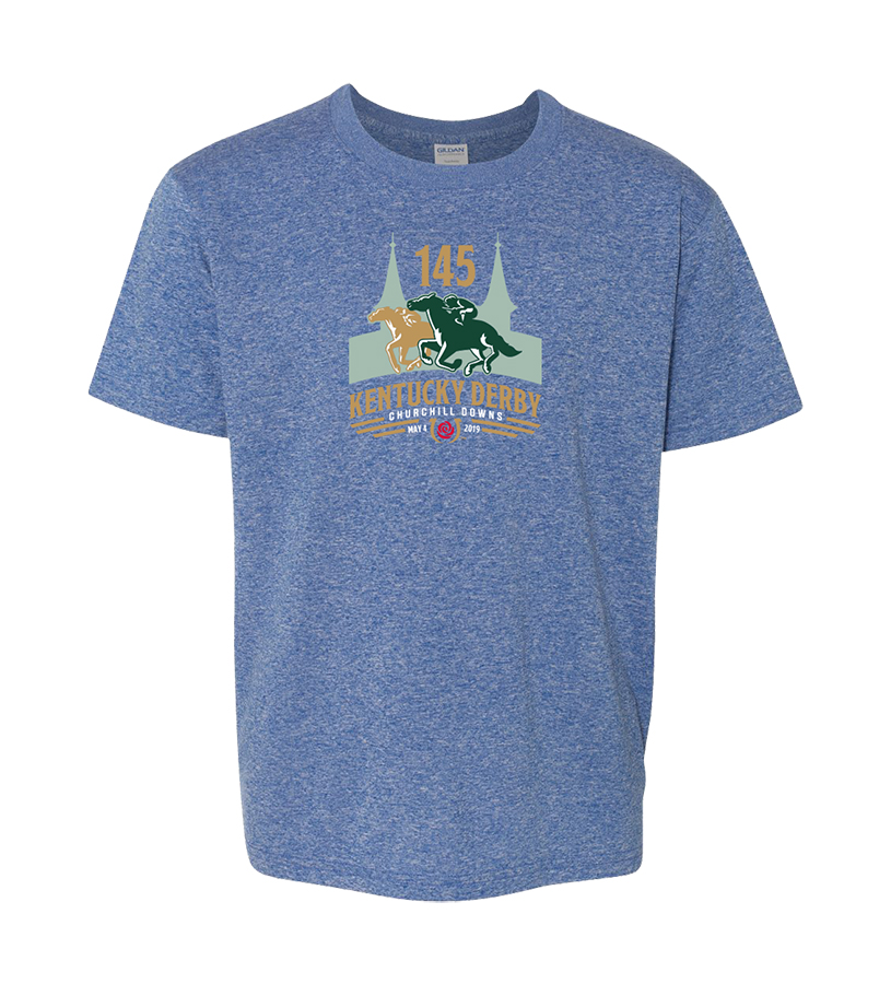 Kentucky Derby 145 Youth Event Tee,9KYTHRB ROYAL BLUE