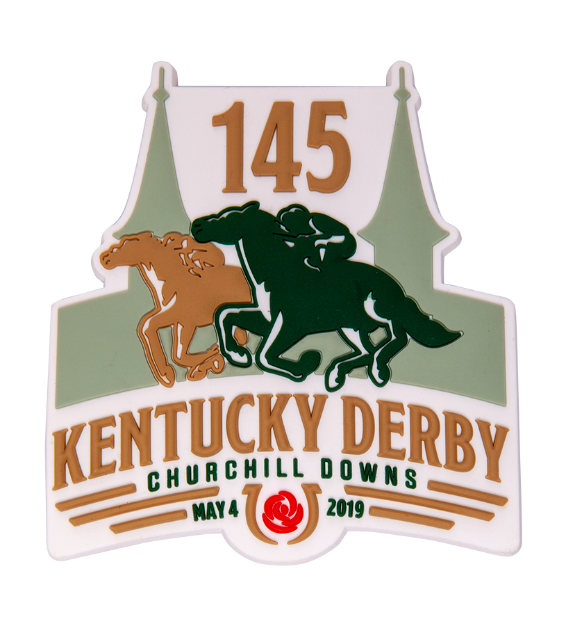 Kentucky Derby 145 Logo PVC Magnet,9KMPVC PVC MAGNET
