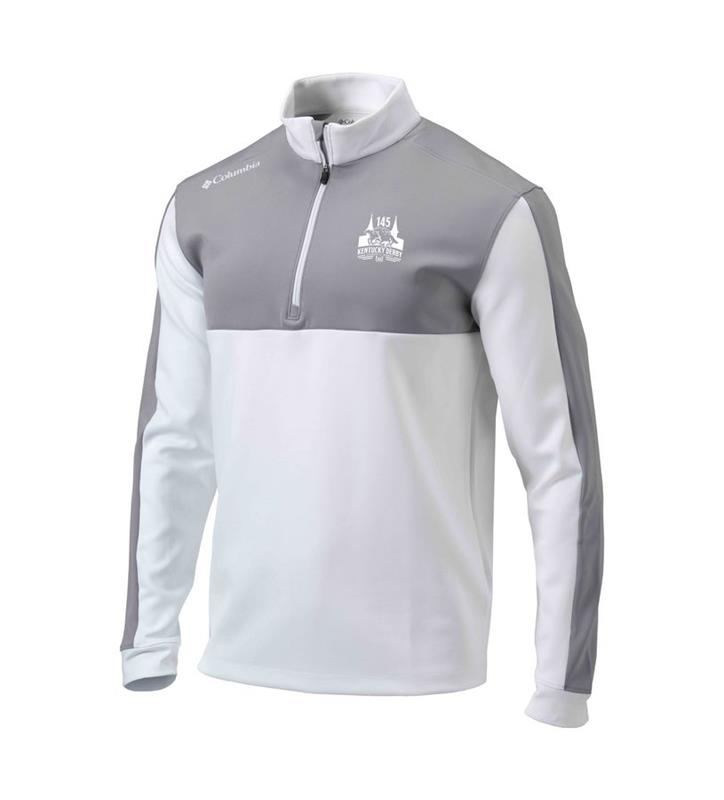 Derby 145 Arrow 1/4 Zip Jacket,19S59ML-100-WHITE