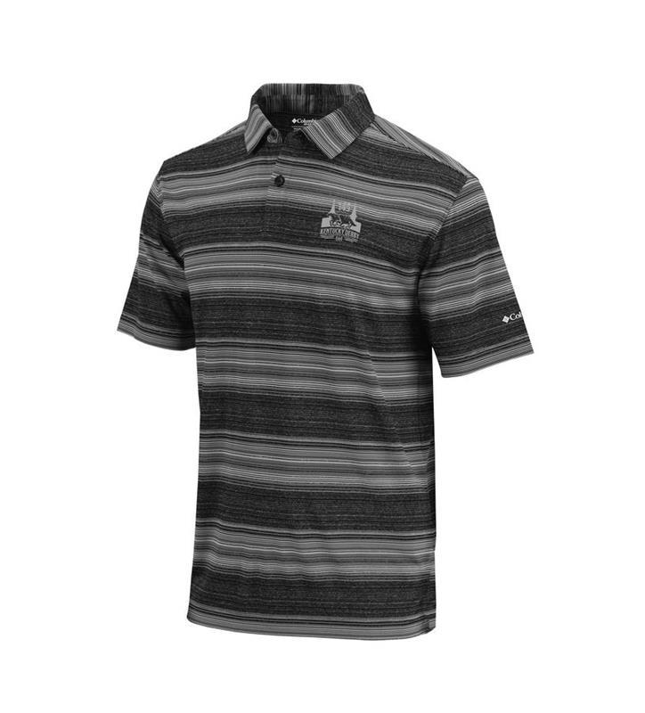 Kentucky Derby 145 Omni-Wick Slide Polo,19S73MP-010-BLACK