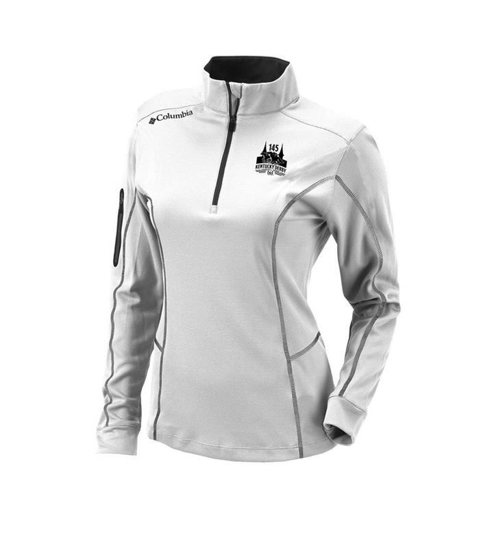 145 Lds Shotgun 1/4 Zip Jacket,16S61WL-100-WHITE