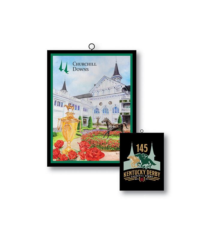 2019 Art of the Derby Ornament,Kentucky Derby 145-2019 Art of the Derby,AOTD ORNAMENT
